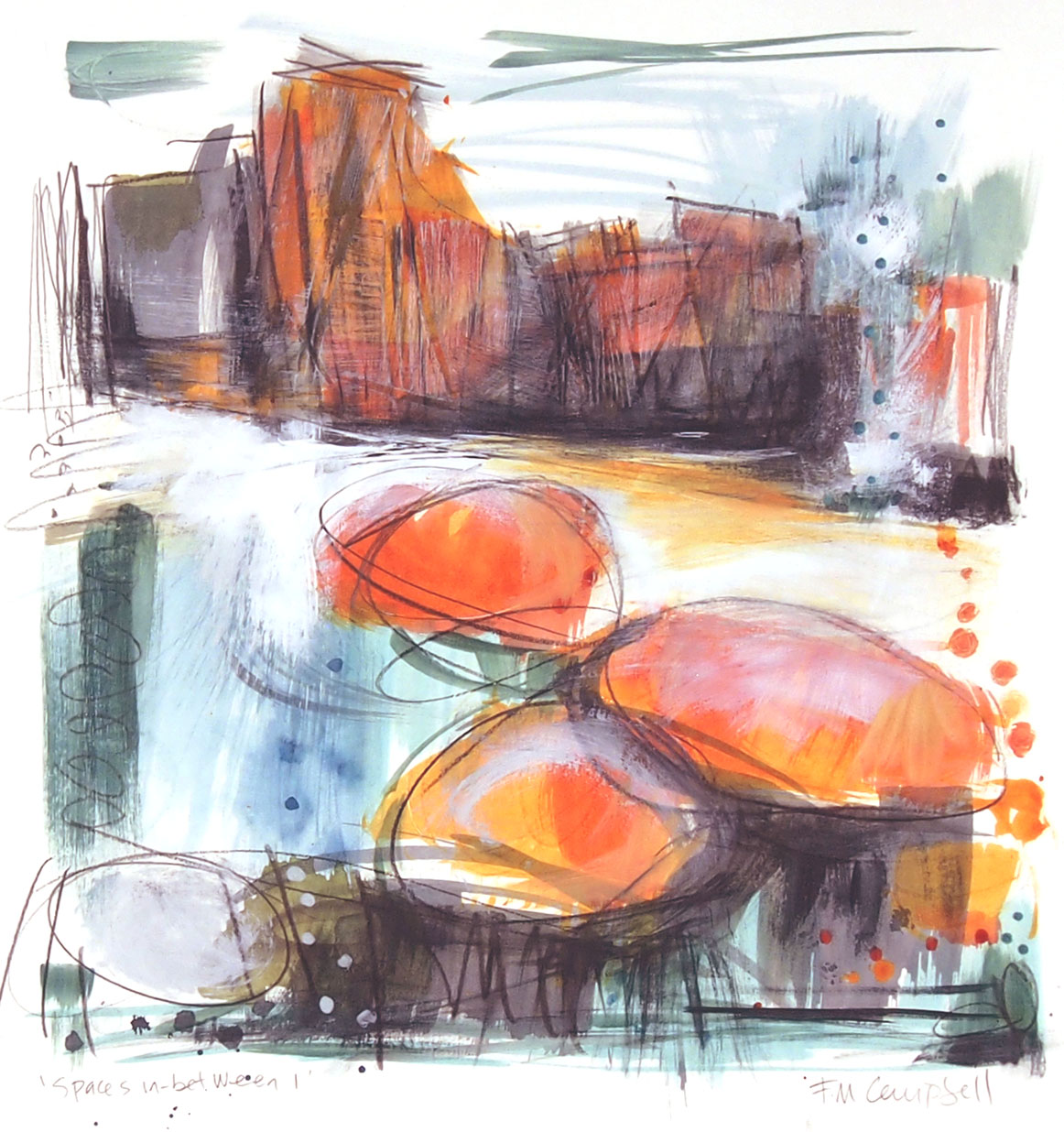 'Spaces in-between I'