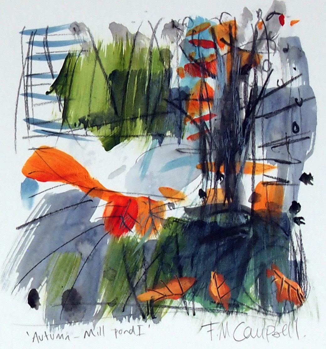 'Autumn - Mill Pond I' SOLD