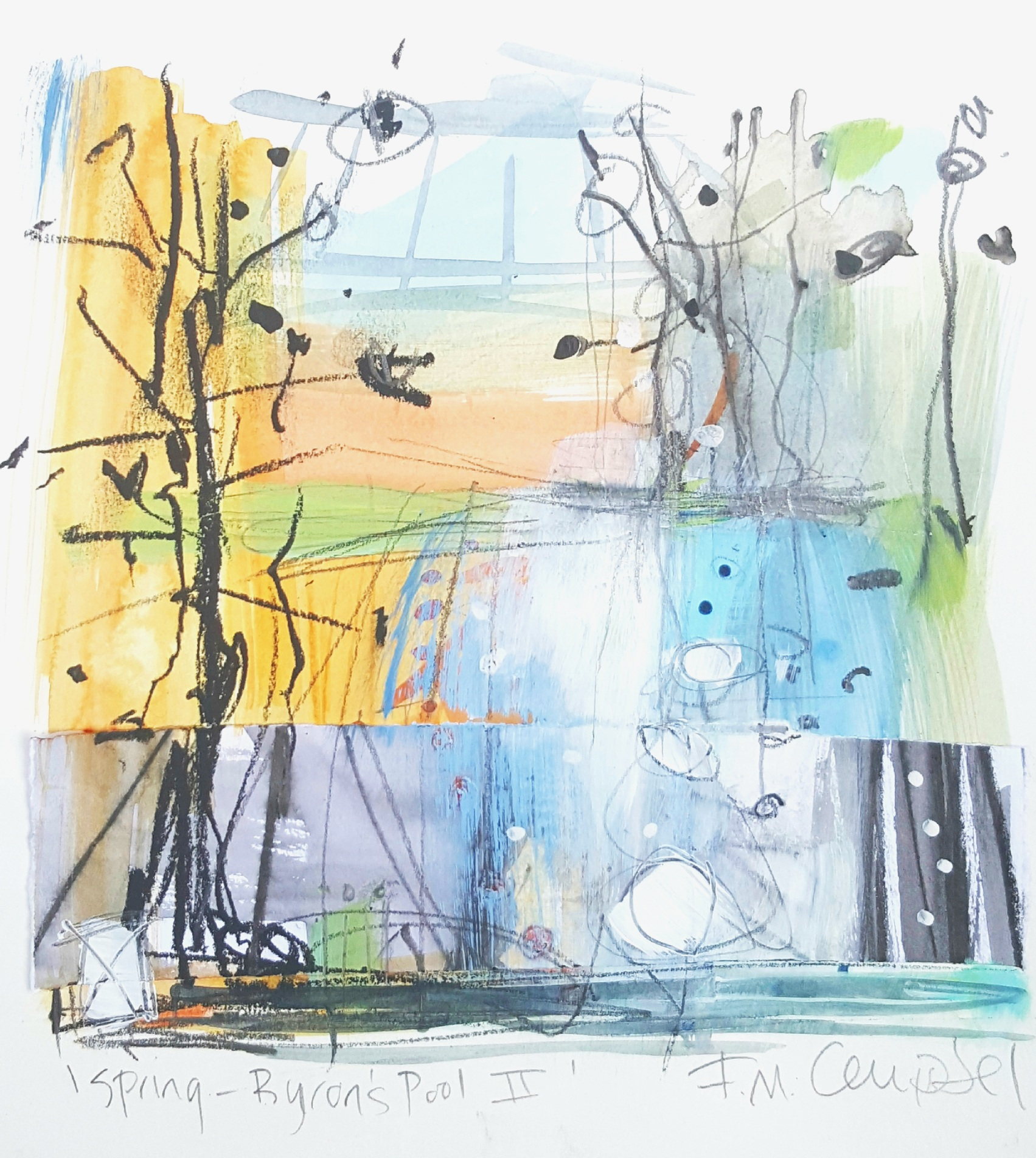'Spring - Byron's Pool III'