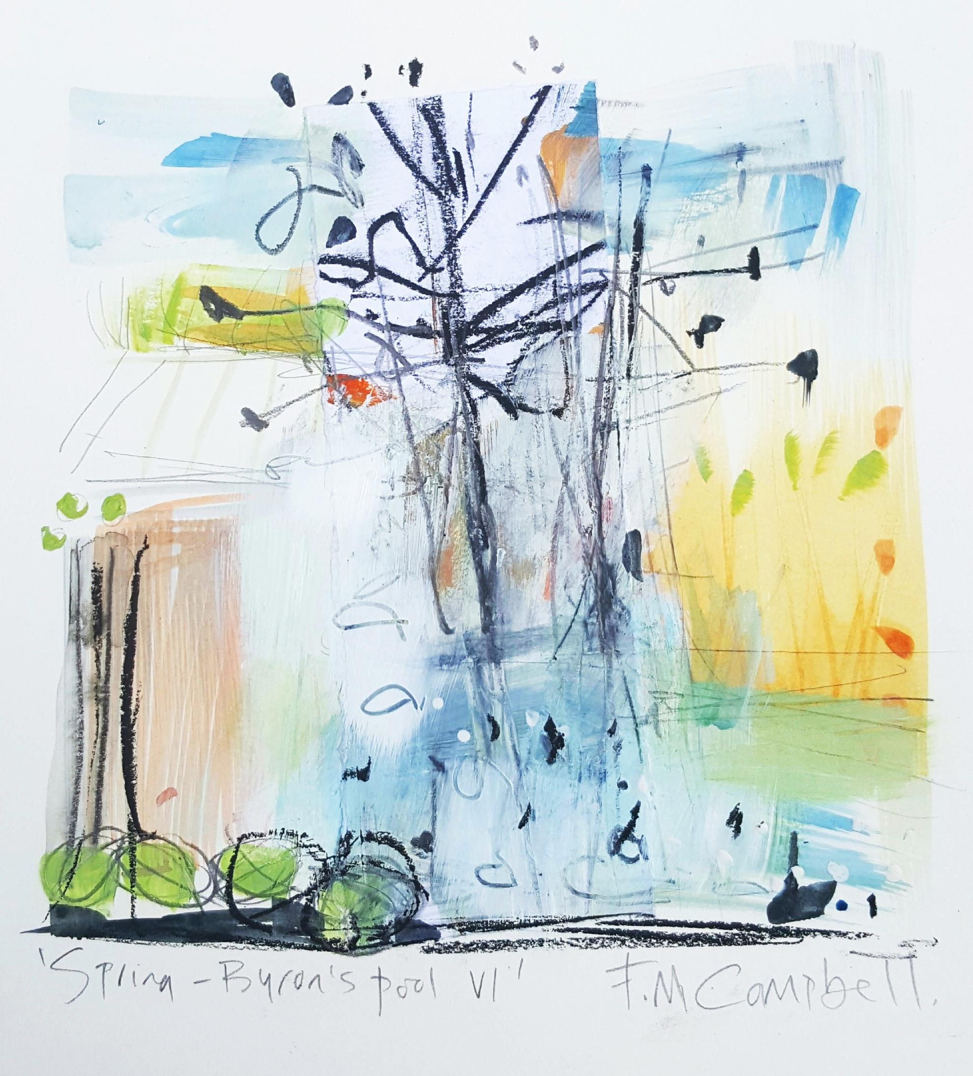 'Spring - Byron's Pool VI'