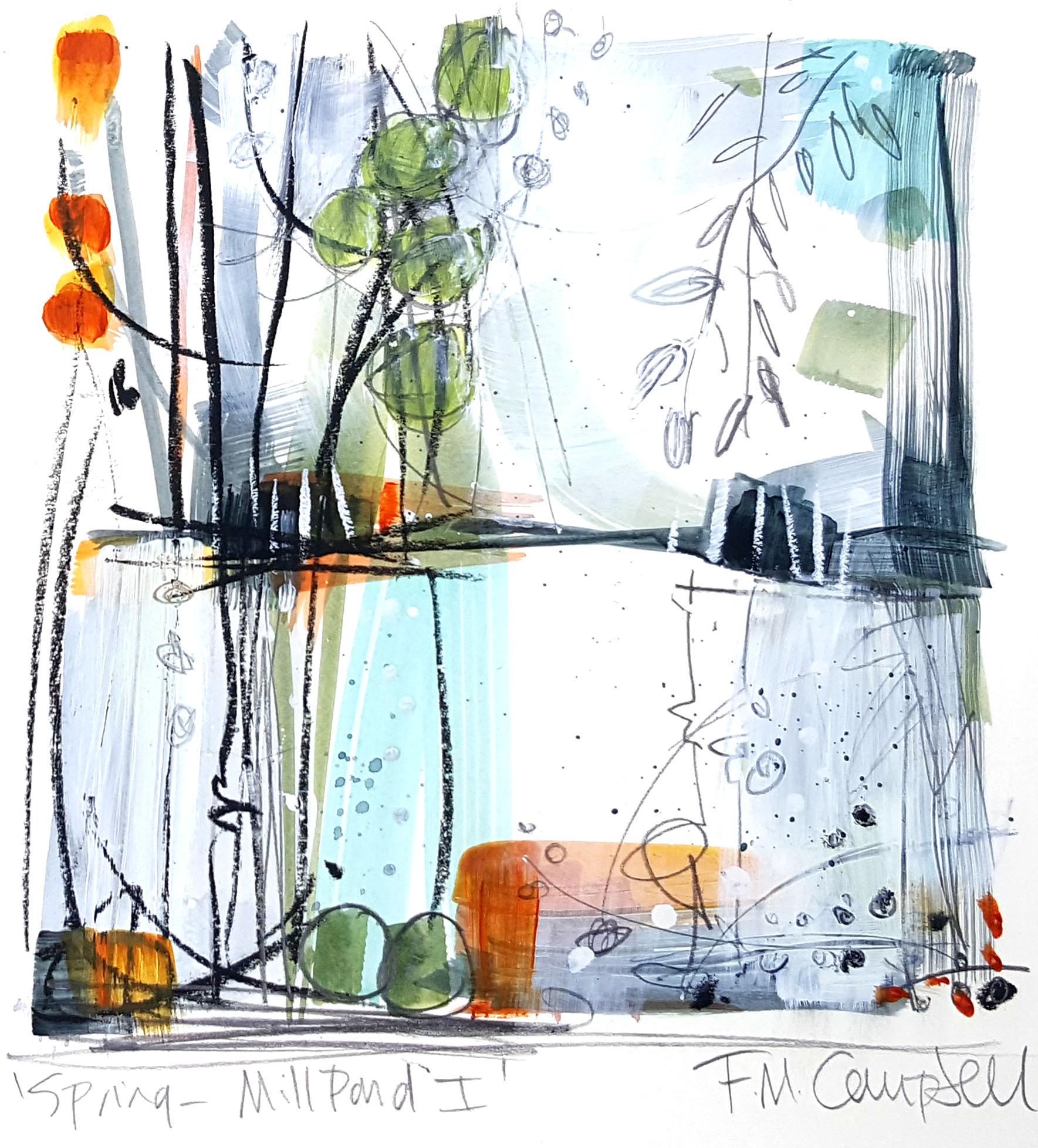'Spring - Mill Pond I'