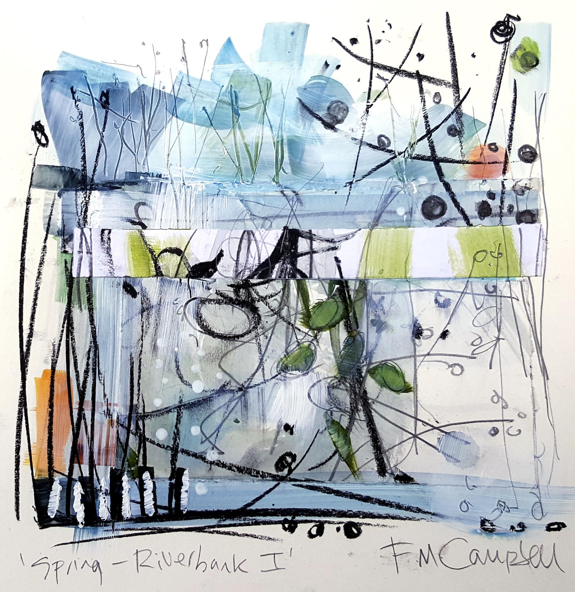 'Spring - Riverbank I'