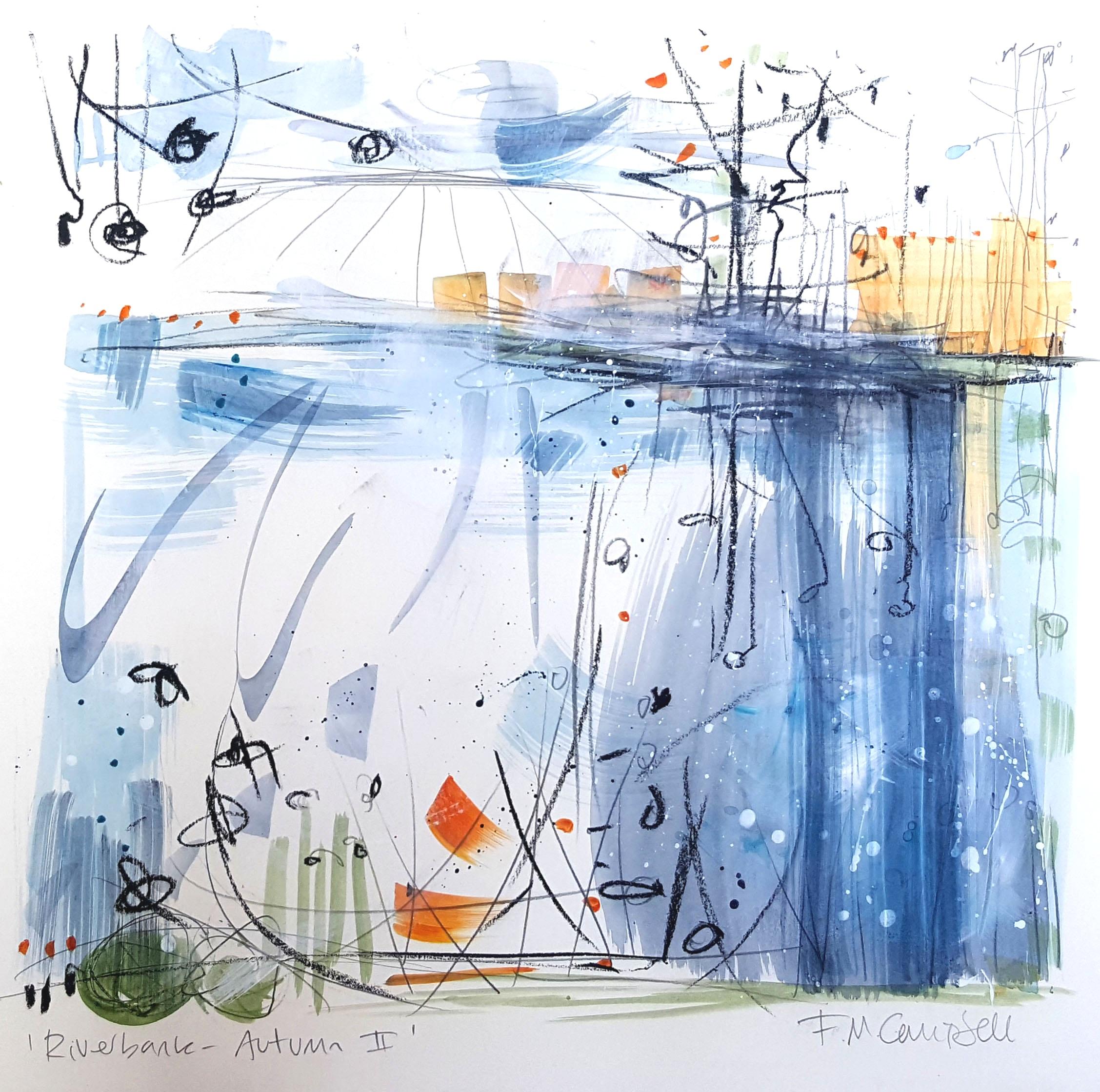 'Riverbank - Autumn II'
