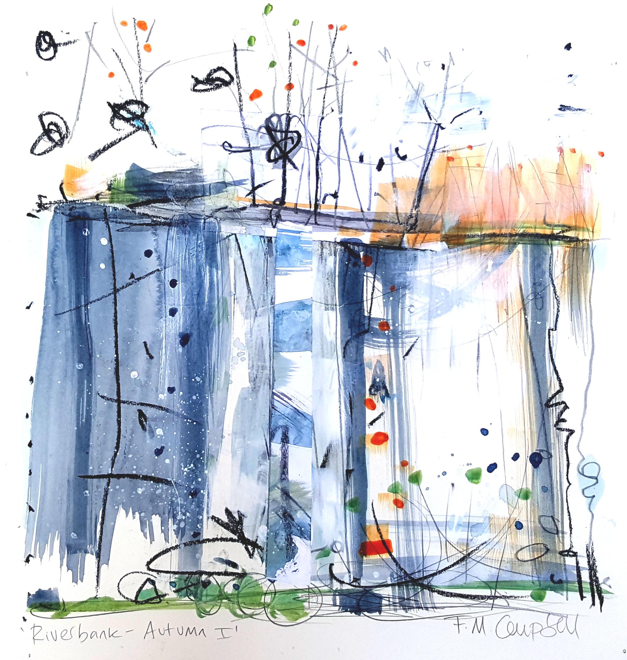 'Riverbank - Autumn I'