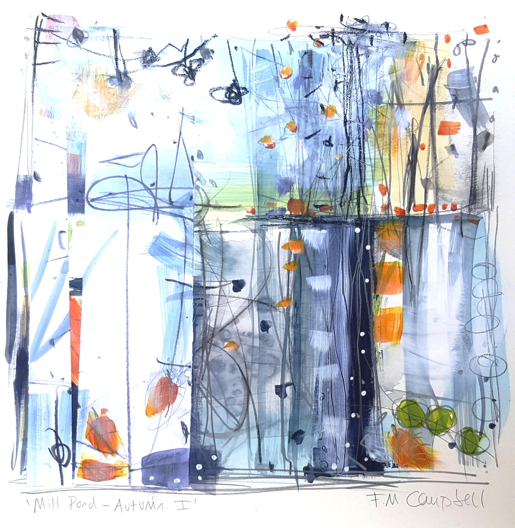 'Mill Pond - Autumn I'