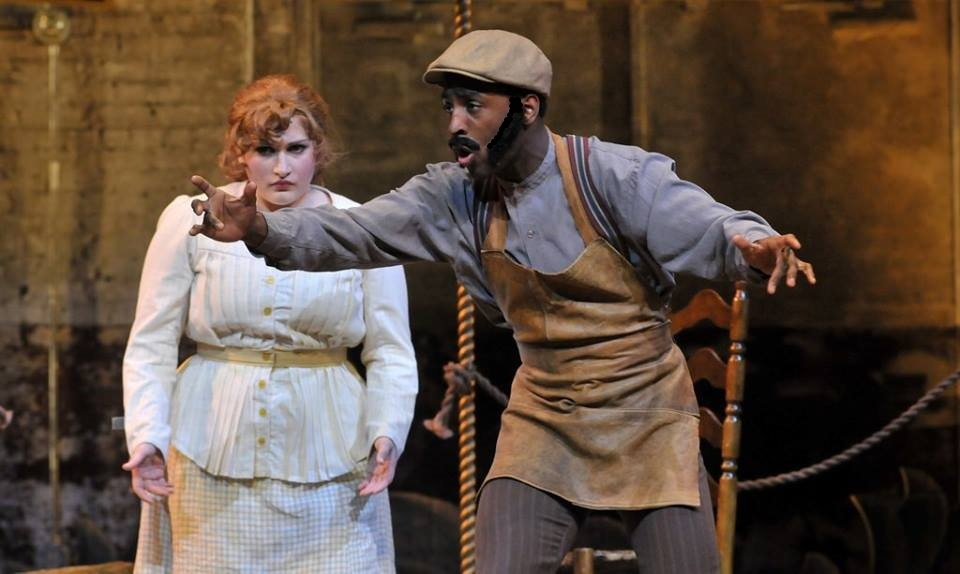 Hayley Moir and Devin in Carousel.