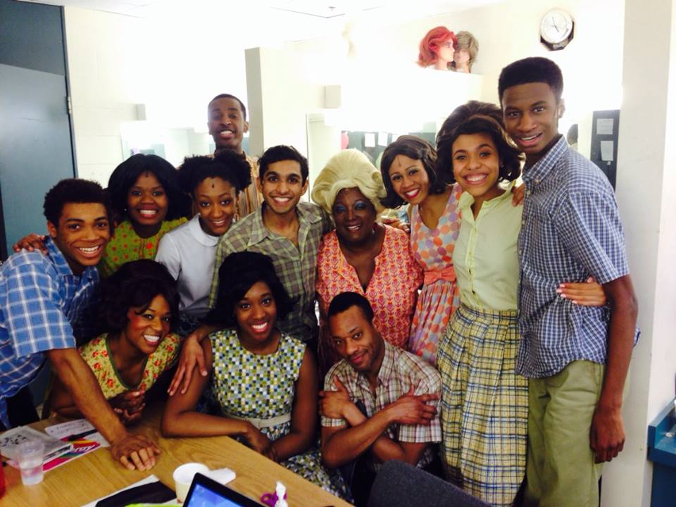 The cast of Hairspray.