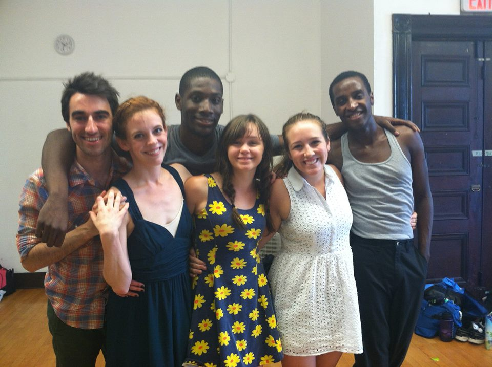 The company of Paradise Lost during the 24hr ChoreoFest.