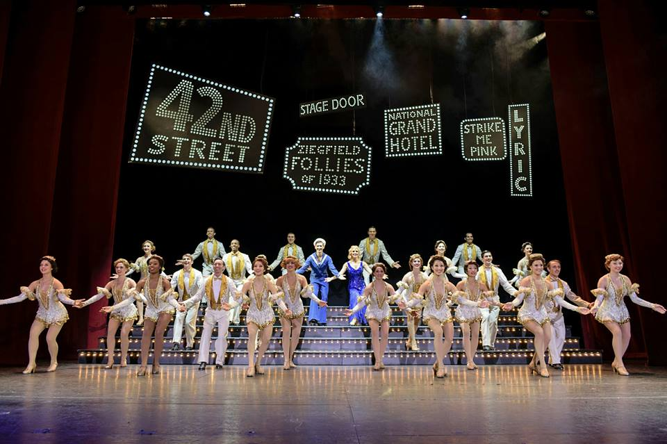 The cast of 42nd Street.