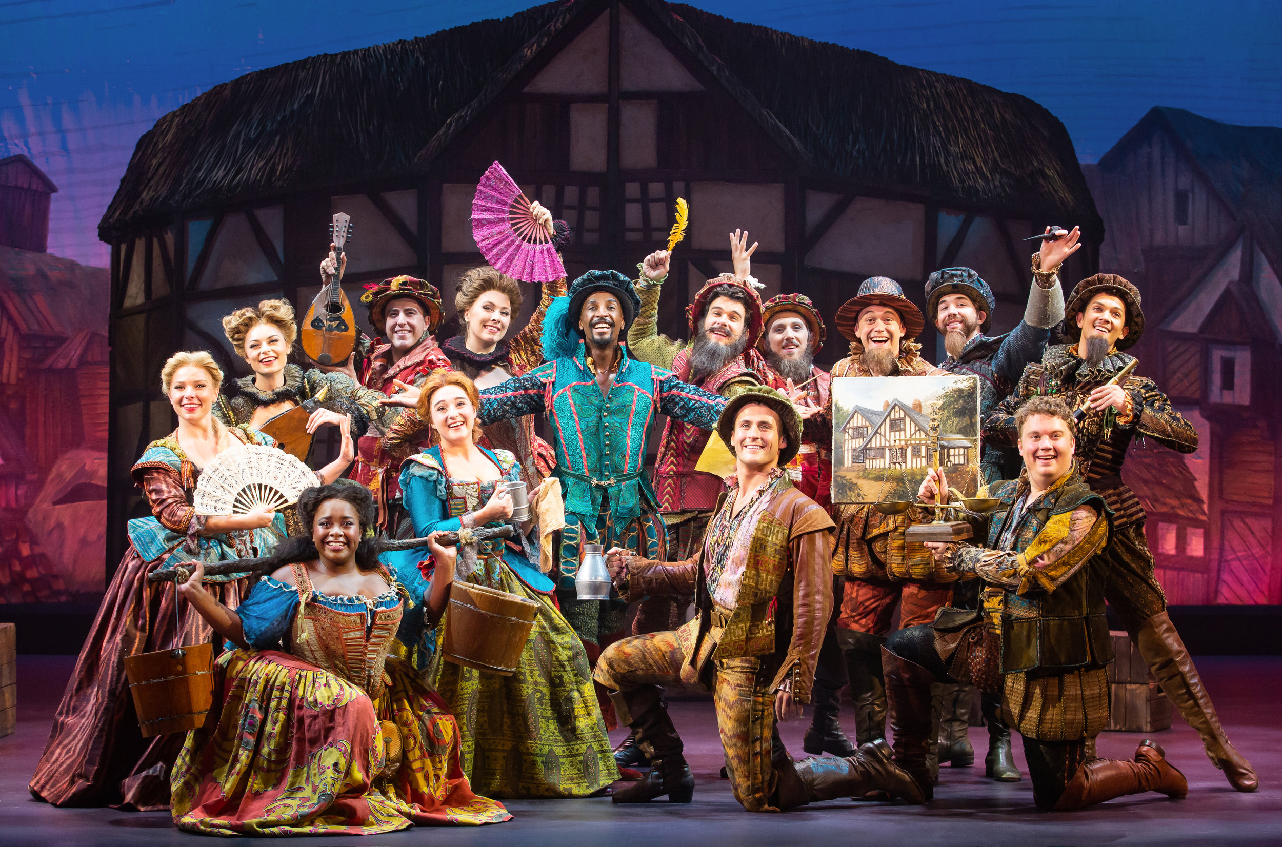 Devin and the company of Something Rotten!