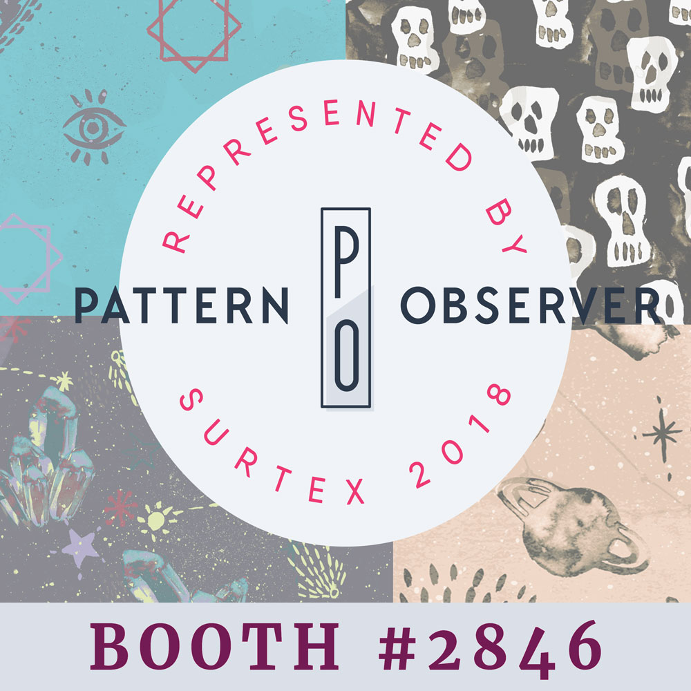 its been one of my dreams to have my patterns at surtex.....and its come true....i will be proudly represented by Pattern Observer at Surtex in may! ....yay!!!
