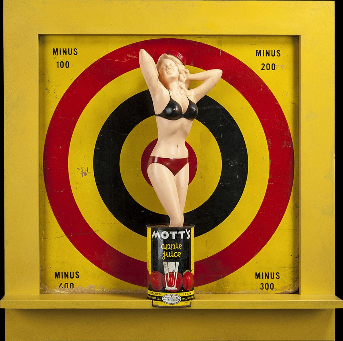 Take Aim, 2012, 27 x 26 x 4 (Sold)