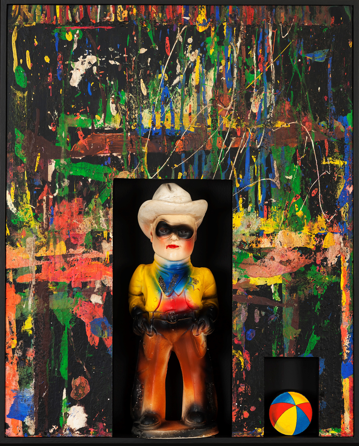 Child's Play, 2013, 27 x 24 x 4 (Sold)