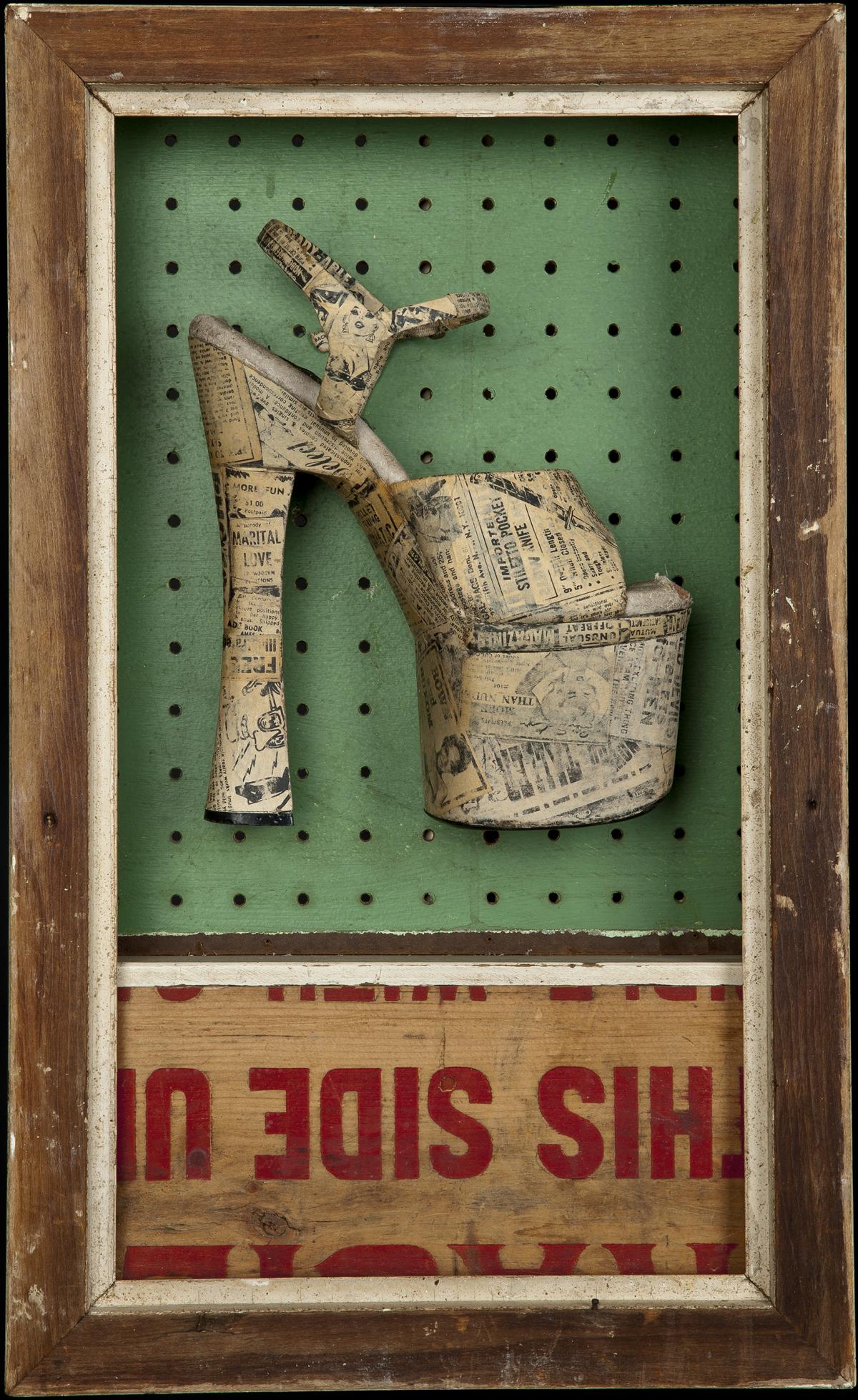 Lost & Found in Bridgewater, 2013, 21 x 13 x 5 (Sold)