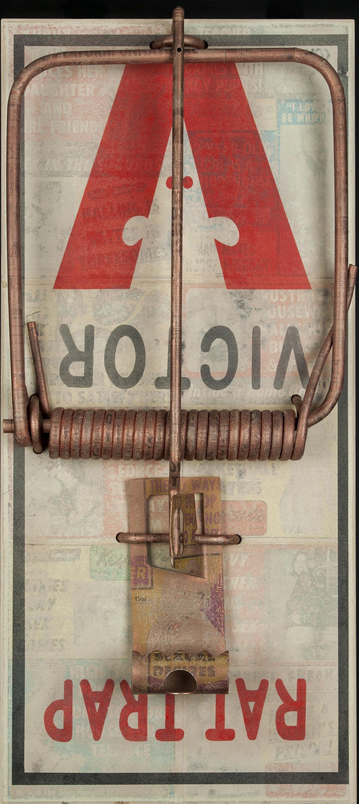 Rat Trap, 2013, 44 x 21 x 8 (Sold)