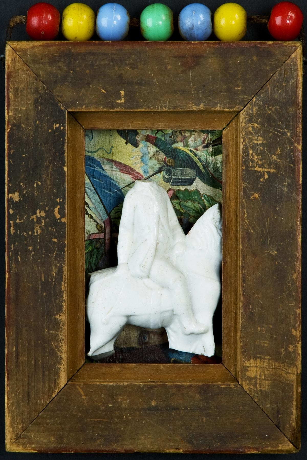 Headless Napoleon on Headless Horse, 2009, 7 x 5 (Sold)