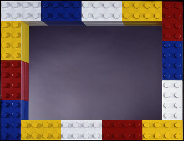 Lego Mirror, 1999, 24 x 32 x 33 (Sold)