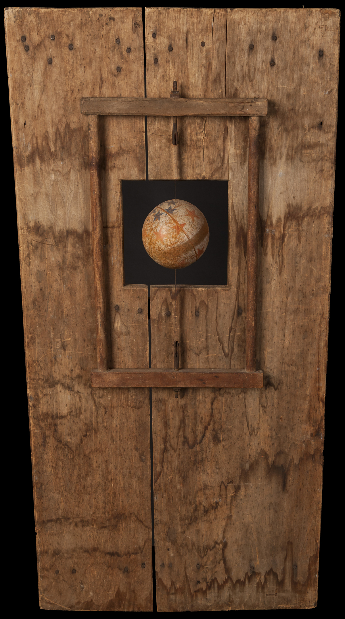 See Saw Ball, 2012, 36 x 18 x 4 (Sold)