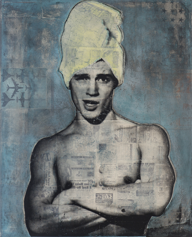 Blue Brando, 2018, 37 x 30 (Sold)