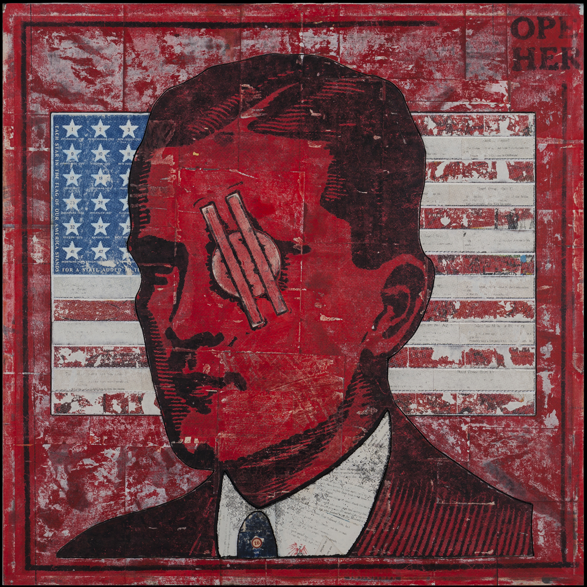Candidate, 2016, 36 x 36 (Sold)