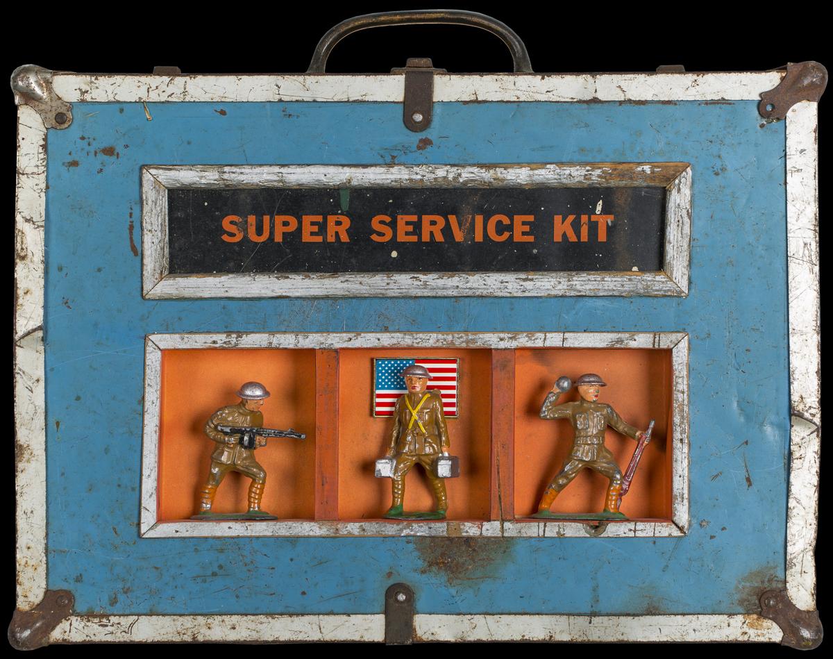 Super Service Kit, 2013, 12 x 15 x 4 (Sold)
