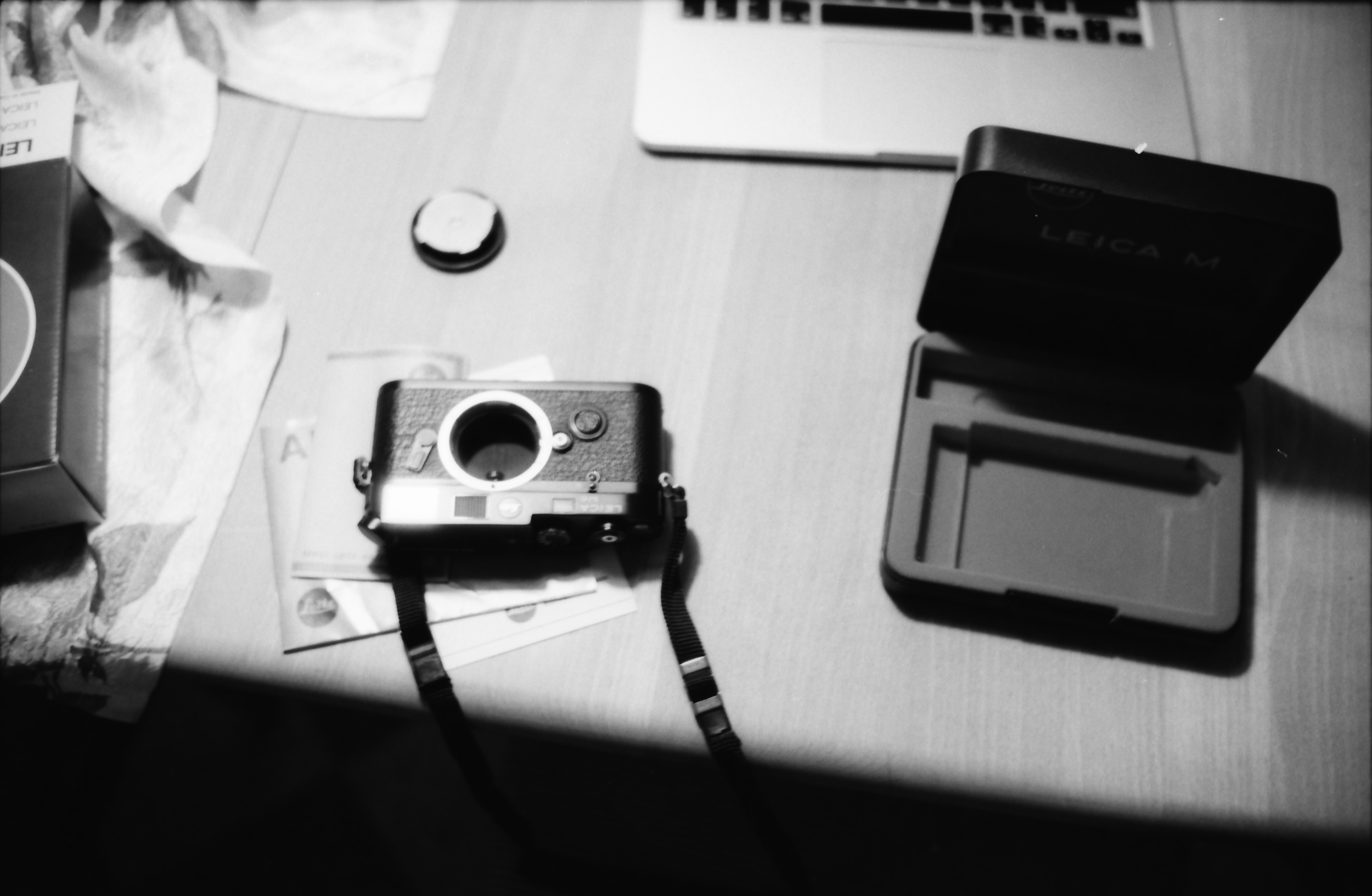 My Leica M6 just after unboxing