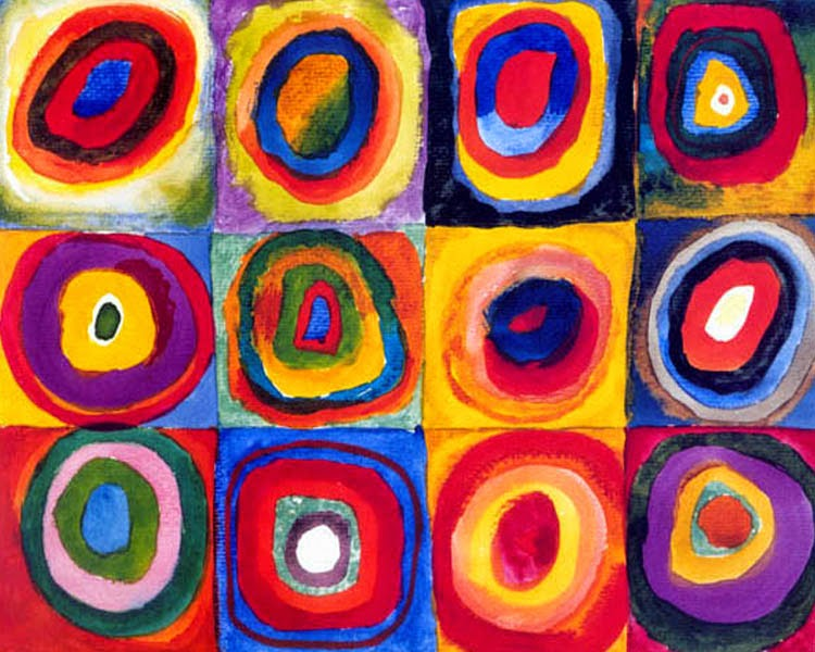 """Wassily Kandinsky, """"Concentric Circles"""" 1913"""