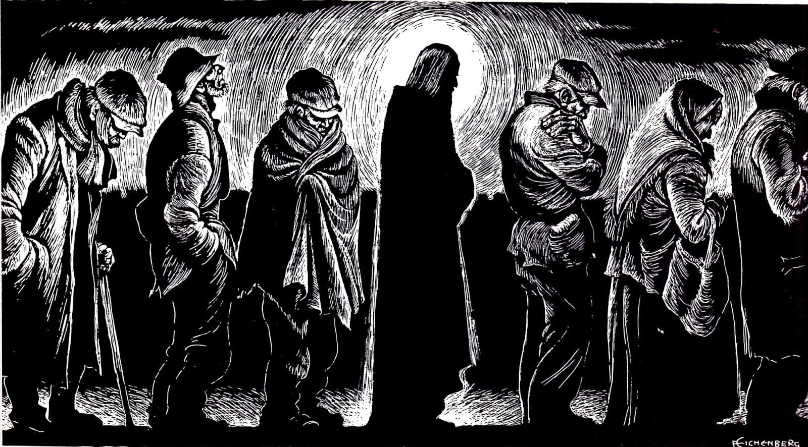 Jesus in the Breadline, Fitz Eichenberg