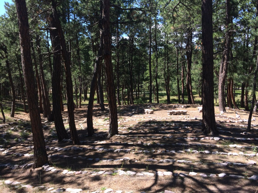 Labyrinth at Bennet Hill Monastery, Black Forest, CO