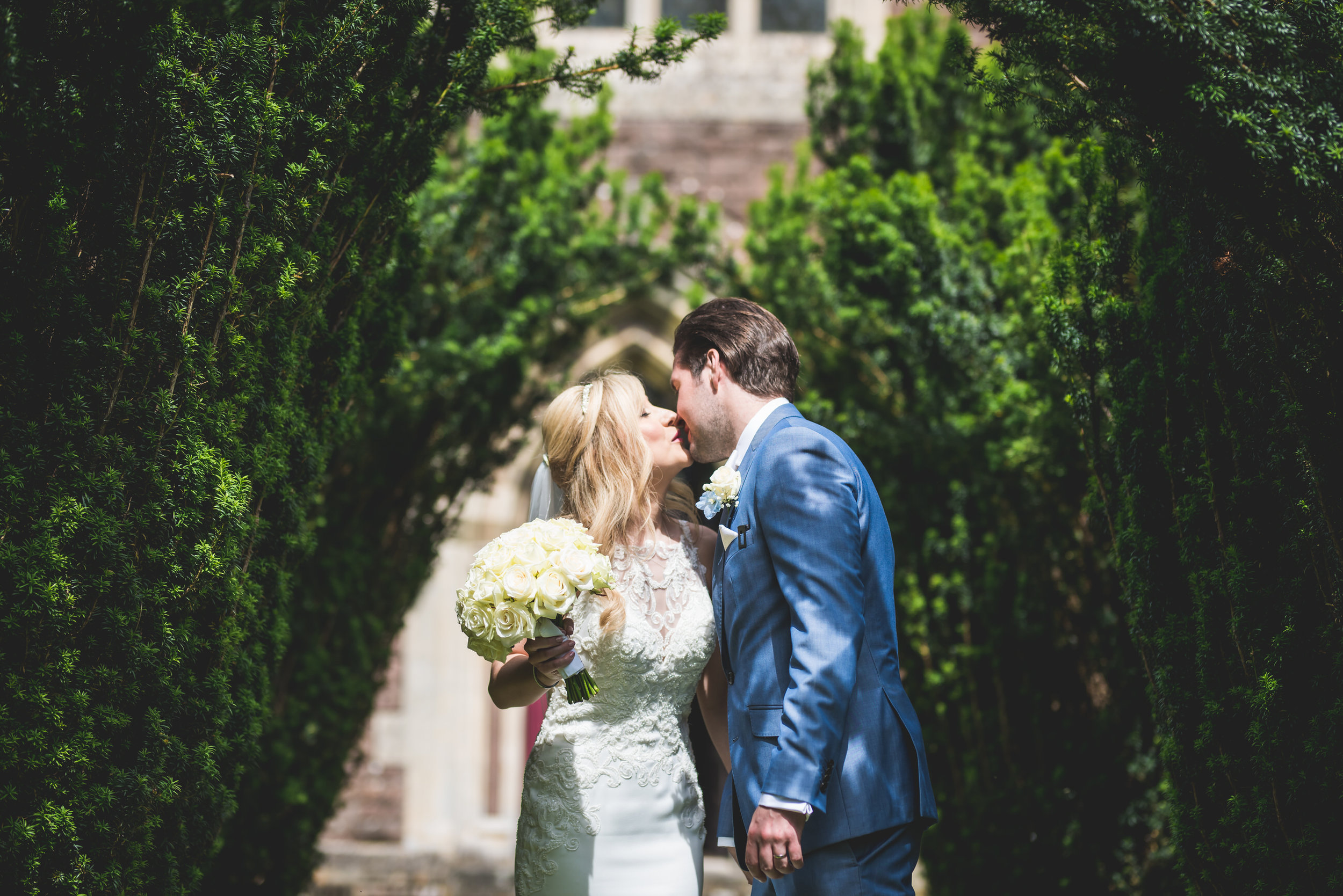 Clearwell Church wedding