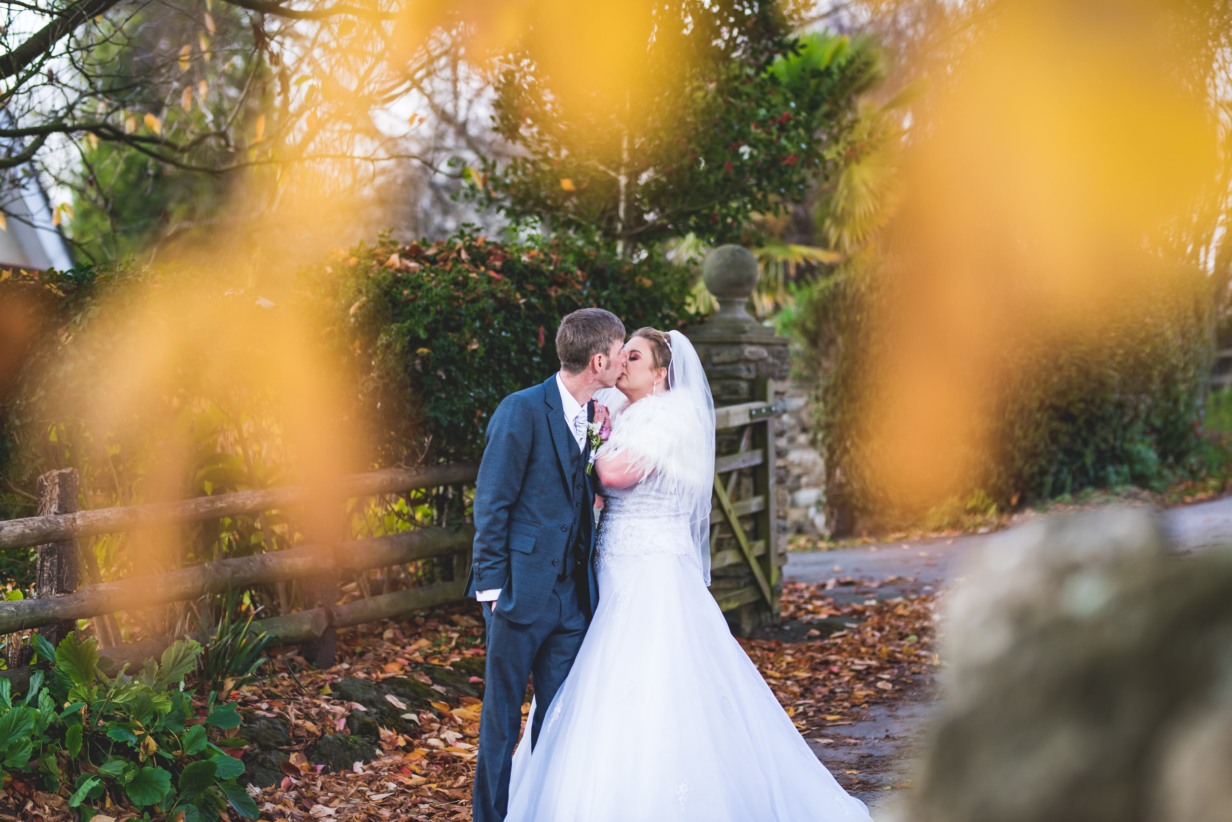 The Old Barn Inn Llanmartin wedding
