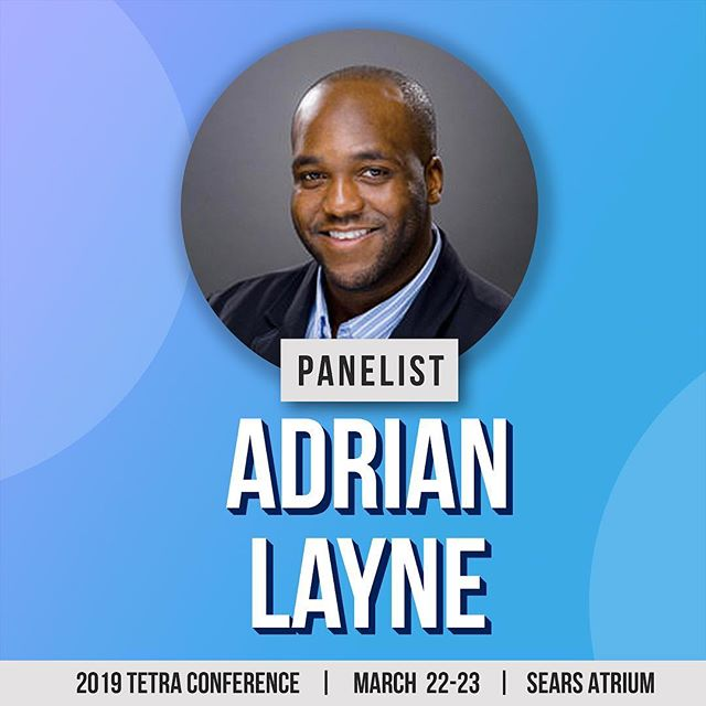 Our last, but definitely not least, panelist for this year's Tetra Conference is Adrian Layne!  Adrian Layne is a teacher with over a decade of experience in the non-profit and education sectors. He has developed and delivered various programs for organizations such as The Scott Mission, Gomaj Community Services, Town of Ajax, Toronto District School Board, YMCA GTA, and Children's Aid Society.  Currently, he is producing and deploying career development programming for students and alumni at Ryerson University. During his downtime, he assists and consults local businesses, such as LAN Lords Gaming Centre and Keystone Dance Studio on business development best practices. Ultimately, he aspires to regularly see students, professionals, and community members unlock their hidden potential, meet and surpass personal goals, and wisely engage their dreams.  xxx  Don't miss out on this amazing panel and much more and grab your tickets today! See link in bio.