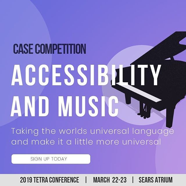 Music is a universal language, but why isn't it accessible? Come out this Friday and Saturday to help a visually impaired pianist read his musical sheets. There will be a cash prize and the winning team gets to work on a prototype for their solution! Plus, you will have the chance to be featured in a Toronto based documentary.  Don't wait to take this opportunity, ticket sales end TONIGHT! Come out and help revolutionize the music industry.  Follow the link in our bio and get your tickets today!!