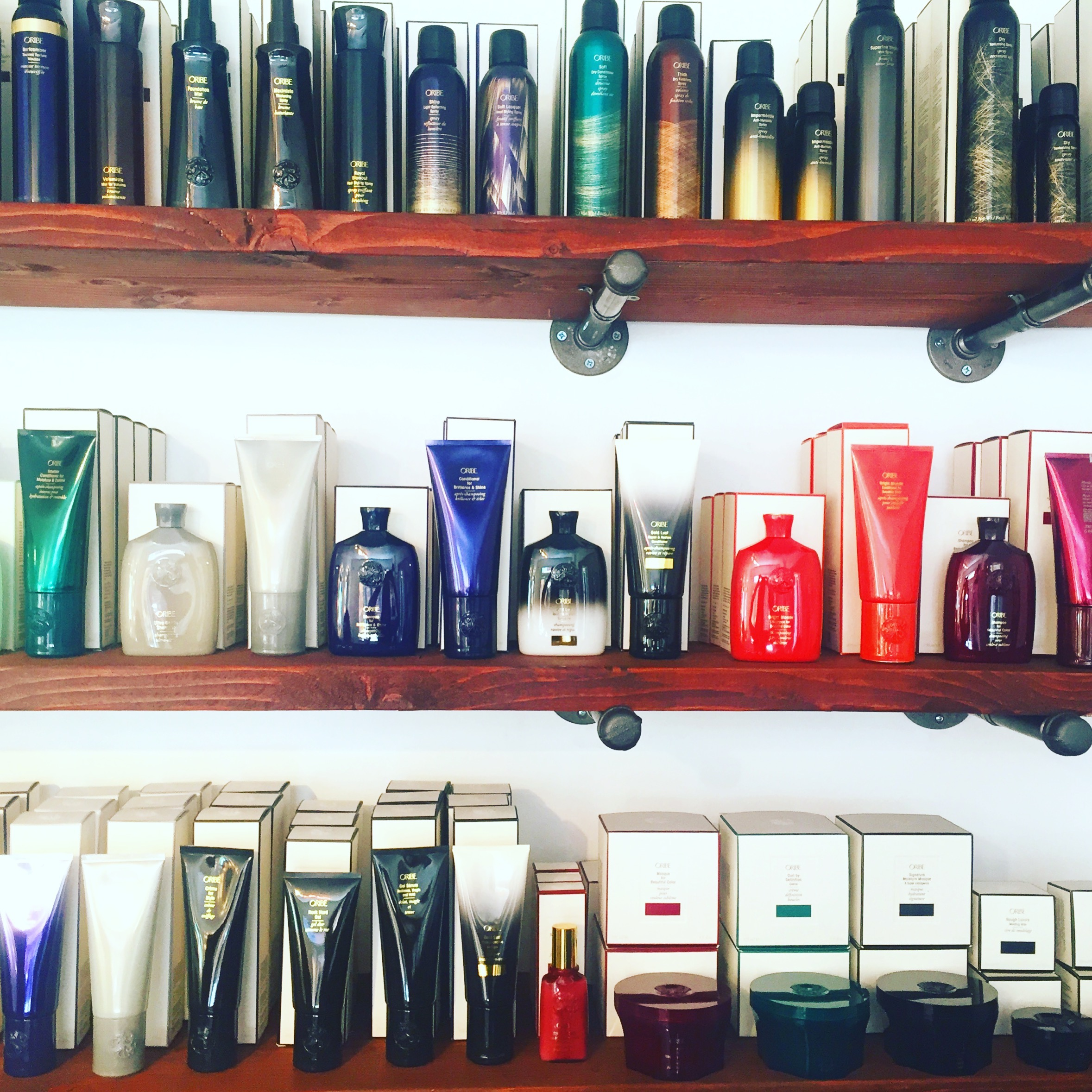 I desperately wish this was my personal collection of Oribe products but alas, it's not. To shop Oribe,  click here .
