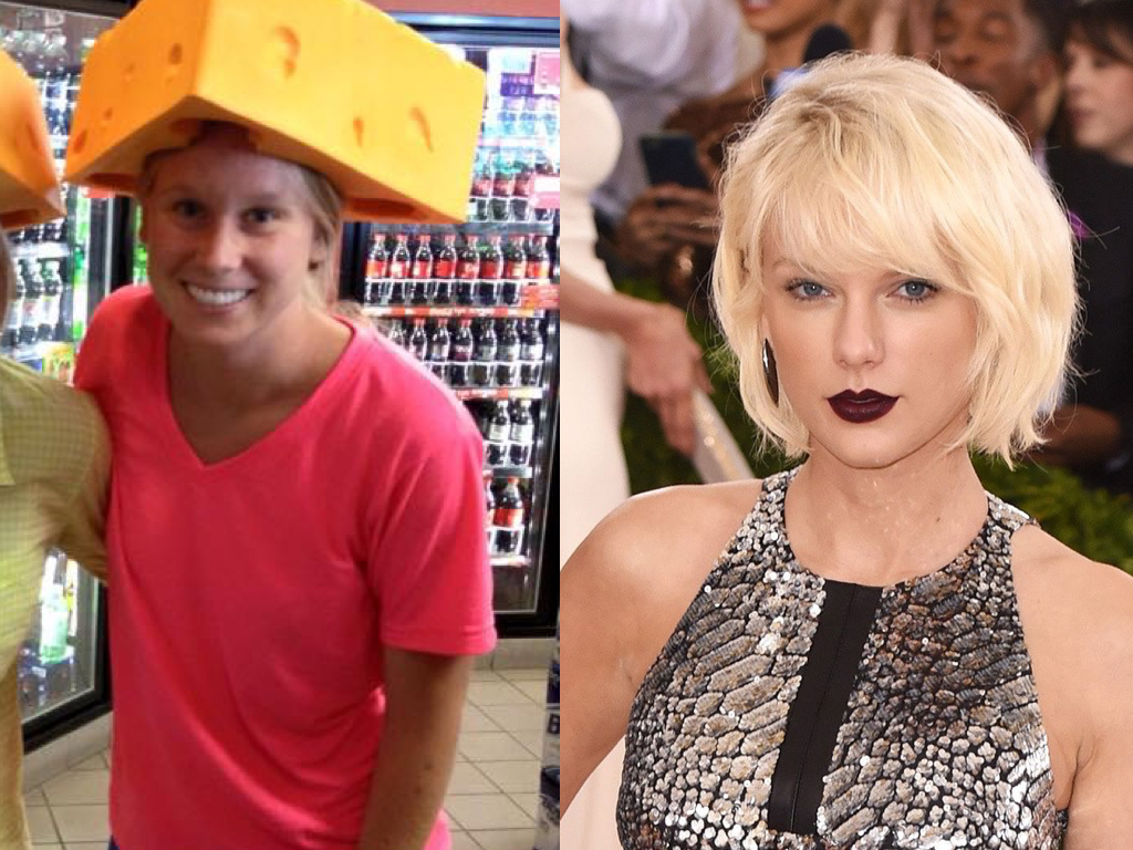 This is Liv. The Cheese head. She wants to look more like Taylor.