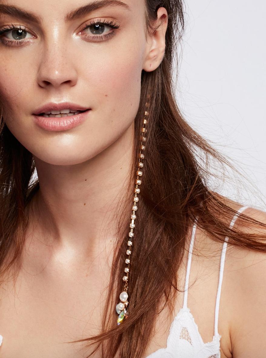 Pearl Drop Hair Charm