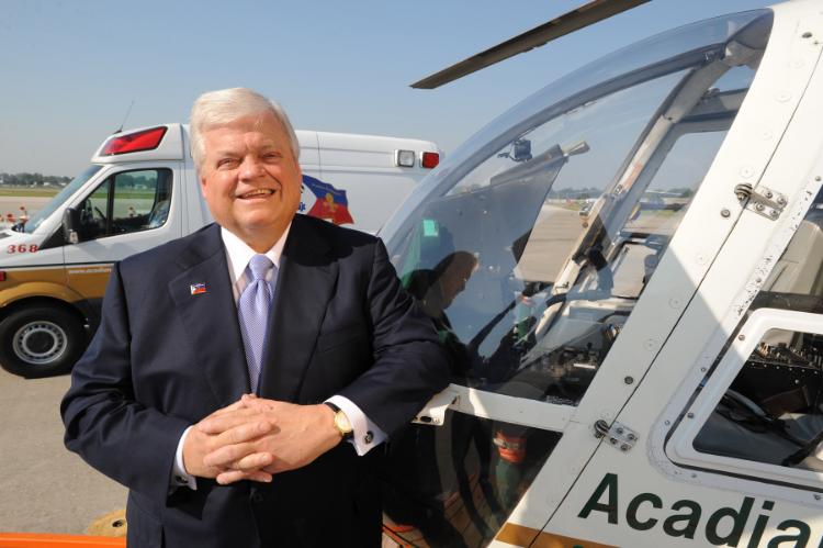 Richard Zushlag, Founder of Acadian Ambulance Company