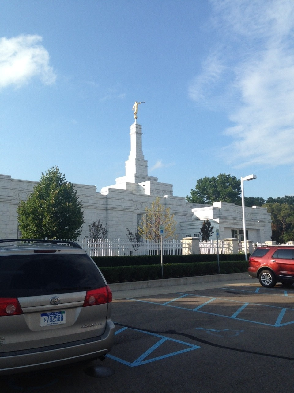 LDS Temple Detroit