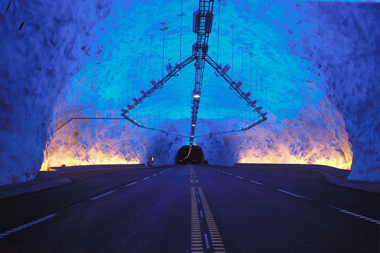 Winner 2002 – Lærdalstunnelen, Norway