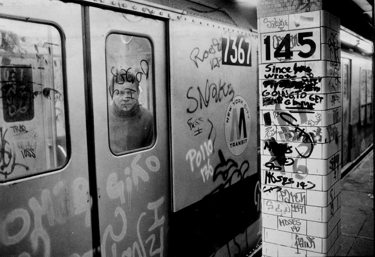 """The subway is the ironclad symbol of """"the city that never sleeps"""". Photography by Richard Corkery/NY Daily News Archive via Getty Images"""
