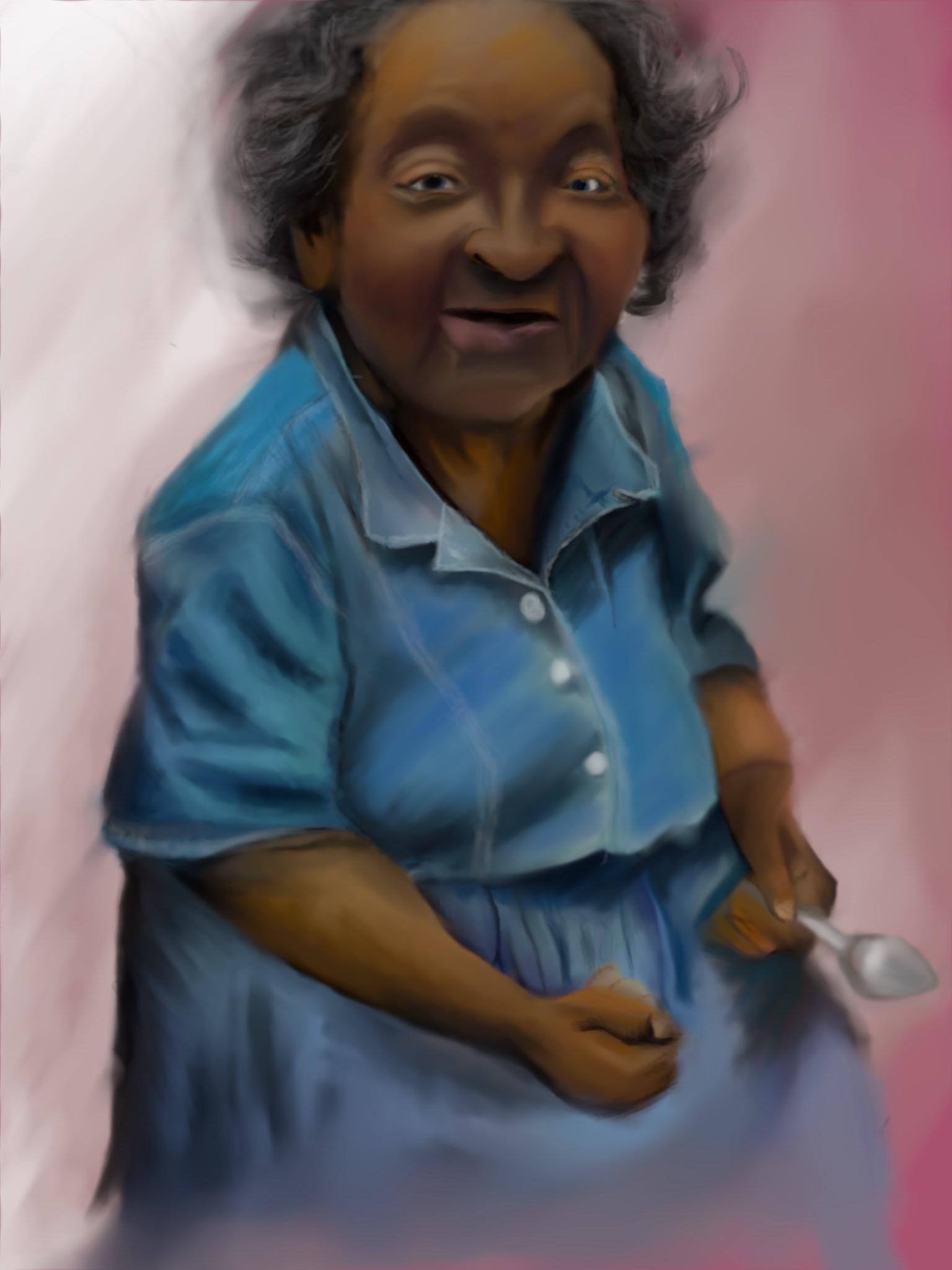 Grandma's Kitchen by W.D. Wind