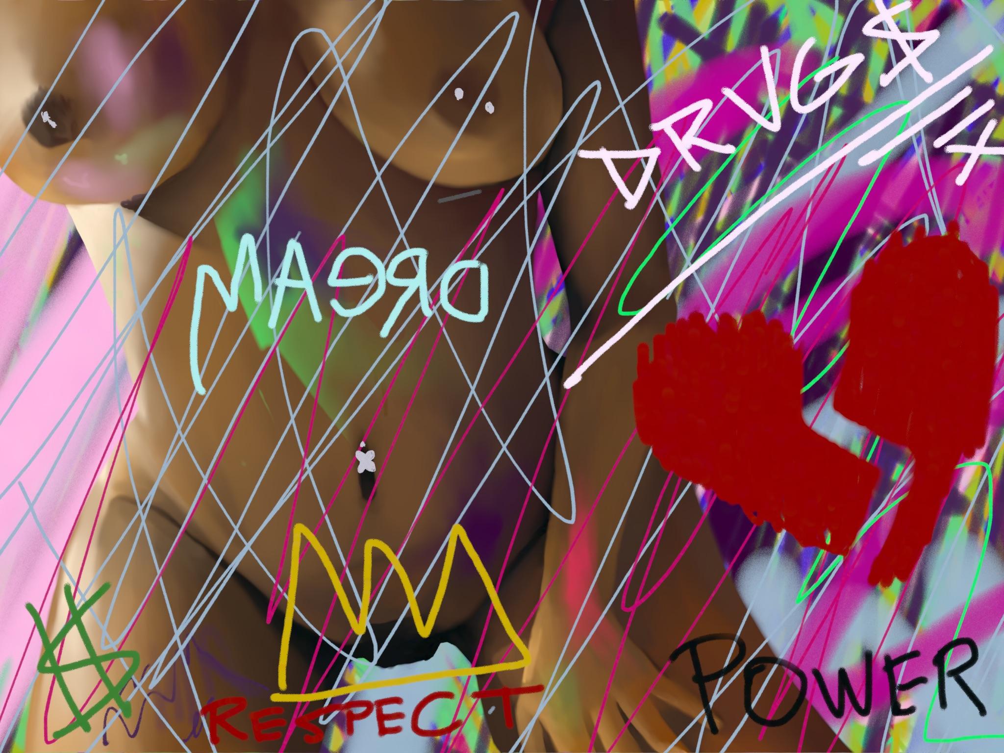 Basquiat's Girl By W.D. Wind