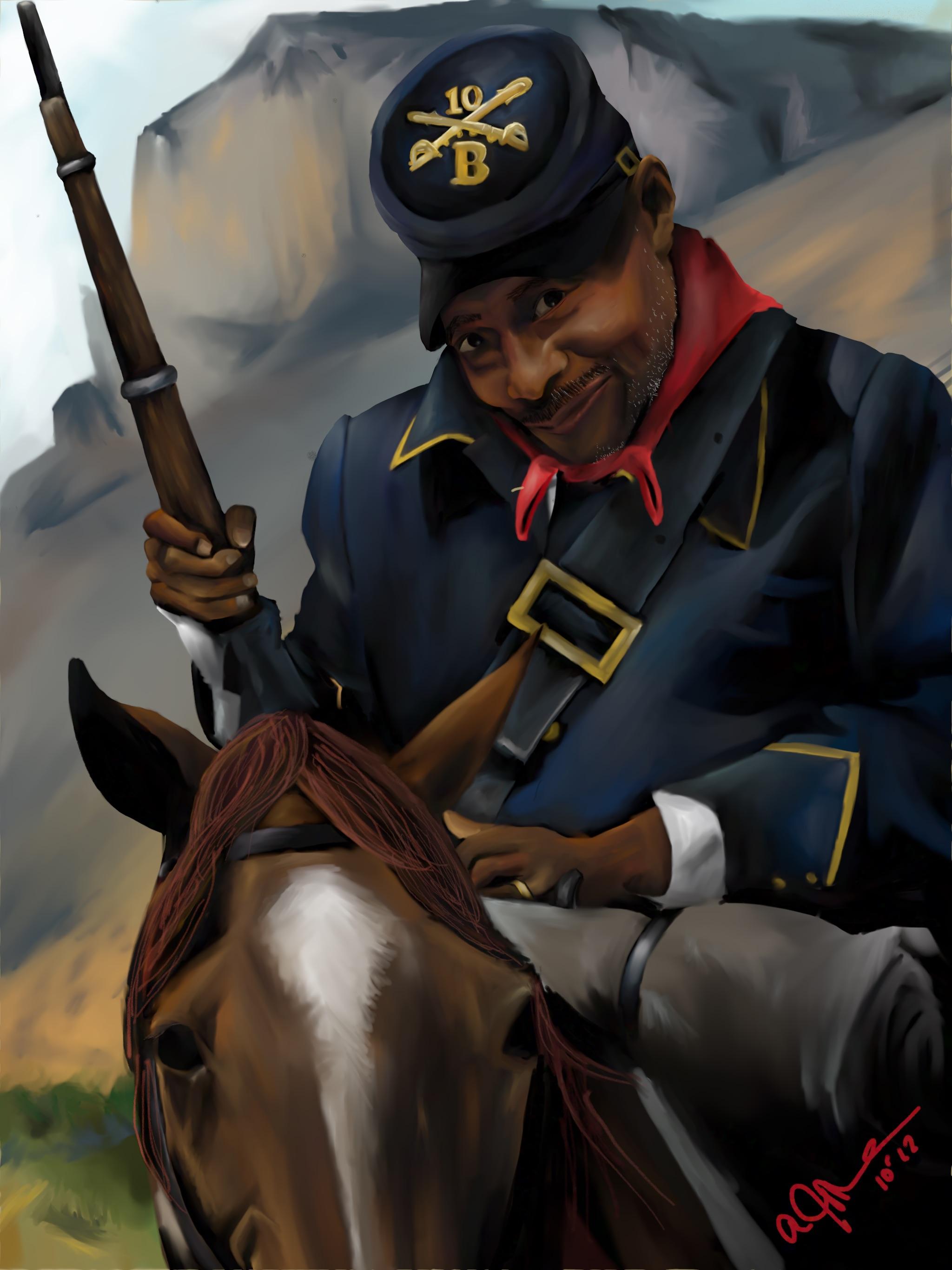 Buffalo Soldier by W.D. Wind