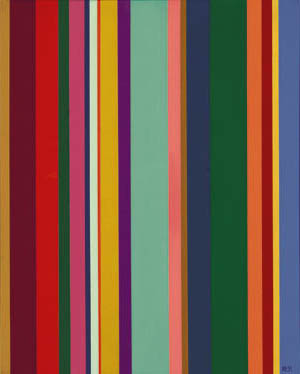 VS #1 , 1959  oil on canvas 30 x 24 inches; 76.2 x 61 centimeters