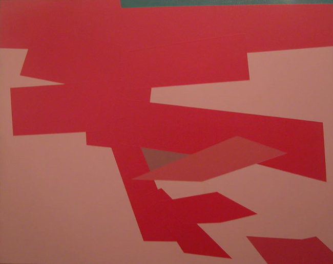F.S. #20 , 1963  oil on canvas 32 x 42 inches; 81.3 x 106.7 centimeters