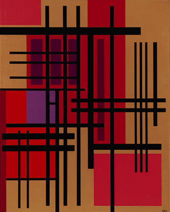 VH #2 , 1963  oil on canvas 50 x 40 inches; 127 x 101.6 centimeters