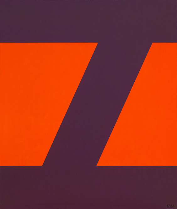 #29 , 1964  oil on canvas 42 x 35 3/4 inches; 106.7 x 90.8 centimeters