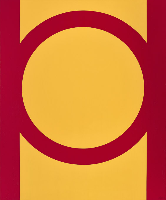 #18 , 1964  oil on canvas 51 x 42 inches; 129.5 x 106.7 centimeters