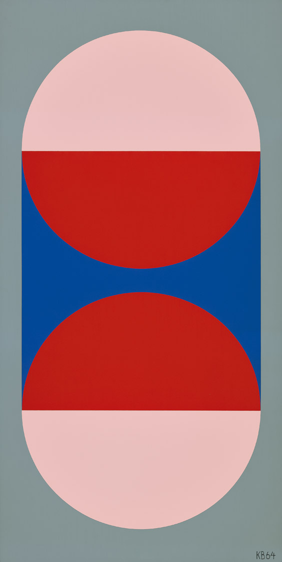 #37 , 1964  oil on canvas 46 x 32 inches; 116.8 x 81.3 centimeters