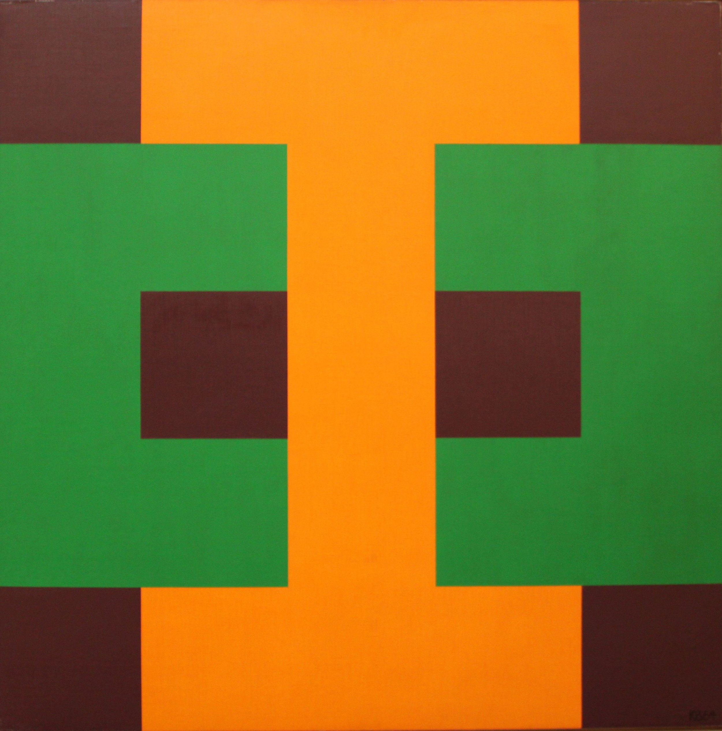 #45 , 1964  oil on canvas 42 x 42 inches; 106.7 x 106.7 centimeters